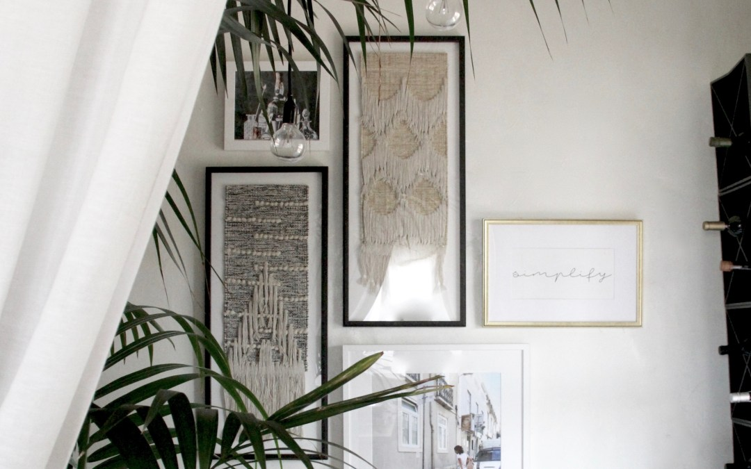 SECRET WEAPON SERIES: THE GALLERY WALL: SIMPLIFIED.