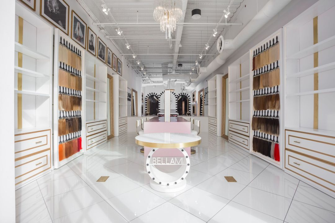 Bellami Beauty bar experiential retail by BE