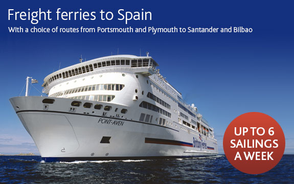 Freight Ferry Crossings To France And Spain Brittany Ferries