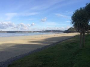 Beach near Plestin-les-Greves Brittany France