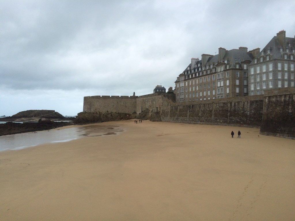 Beaches at St. Malo Brittany