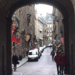 Shops and restaurants St.Malo Brittany
