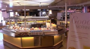 Breakfast on a Brittany ferry