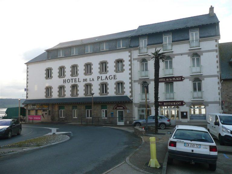 Hotel Saint-michel-en-Grève in brittany