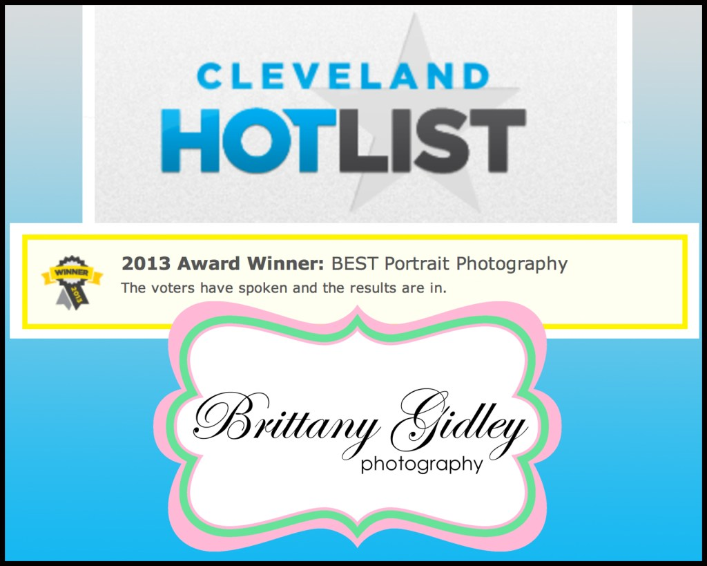 Winner Cleveland's Hottest Portrait Photographer 2013 | Cleveland Hot List