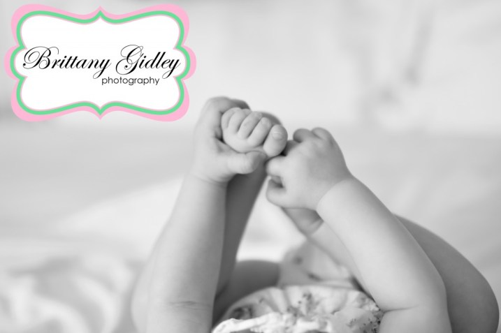 Baby Hands and Baby Feet | Brittany Gidley Photography LLC