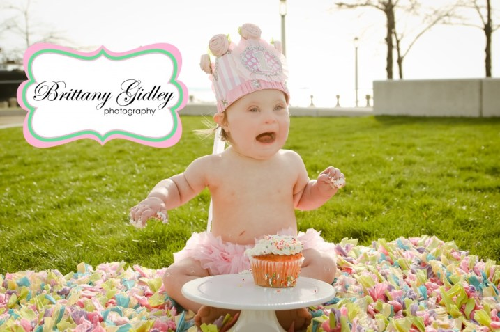 Cleveland Cake Smash Photographer | Brittany Gidley Photography LLC