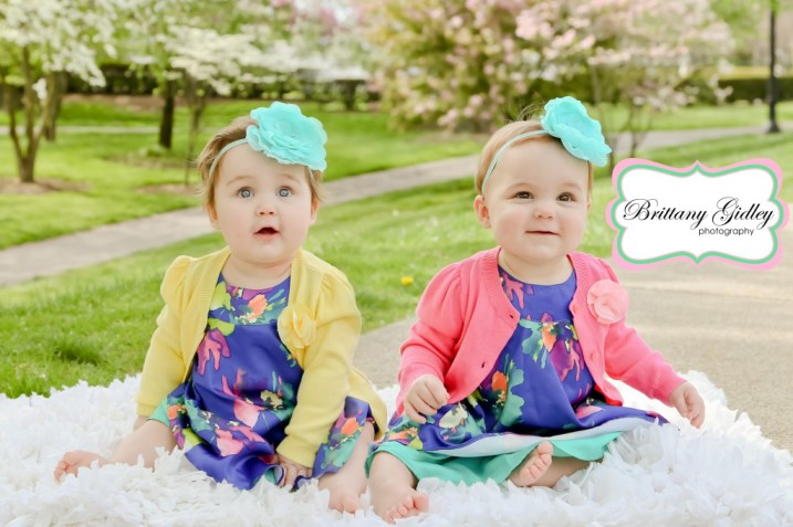 Cleveland Twin Baby Photographer   Brittany Gidley Photography LLC