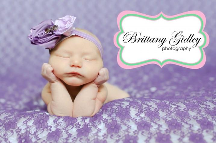 Newborn Baby Pose | Brittany Gidley Photography LLC
