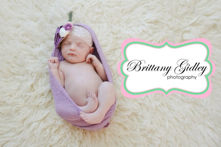 Best Cleveland Newborn Photographer | Brittany Gidley Photography LLC