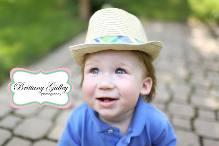 12 Month Cake Smash Session | Brittany Gidley Photography LLC