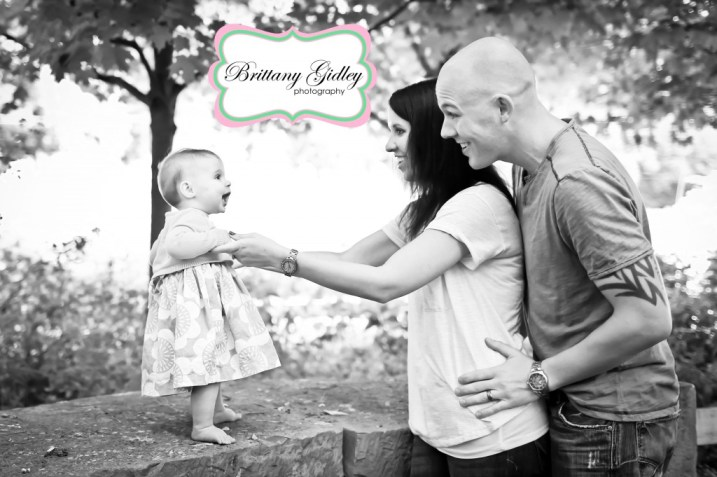 Family Photography 6 Month Baby | Brittany Gidley Photography LLC