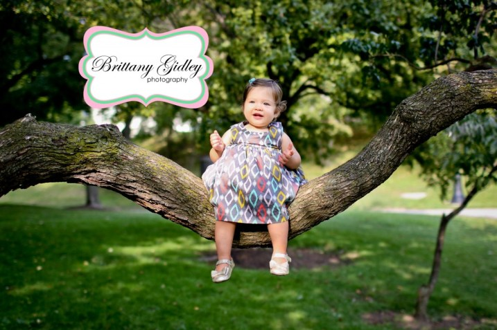 Family Pictures 12 Month Baby | Brittany Gidley Photography LLC