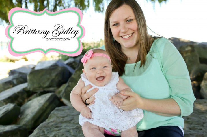 3 Month Baby With Mom | Brittany Gidley Photography LLC