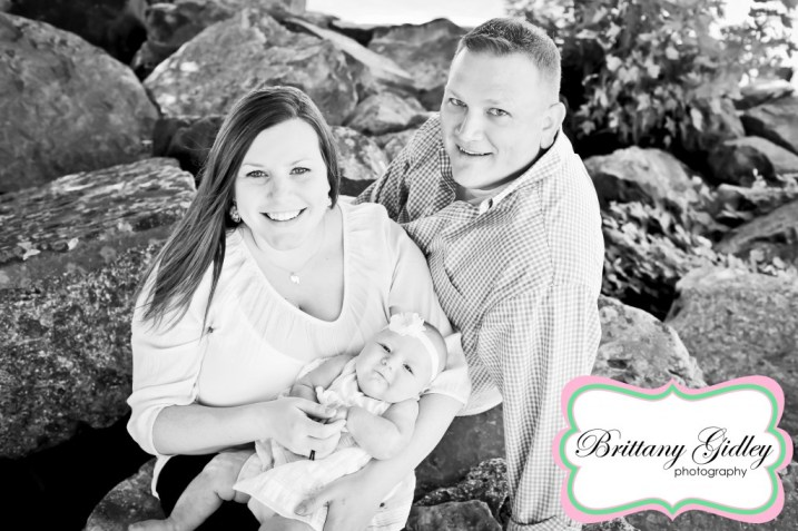 3 Month Baby Photos | Brittany Gidley Photography LLC