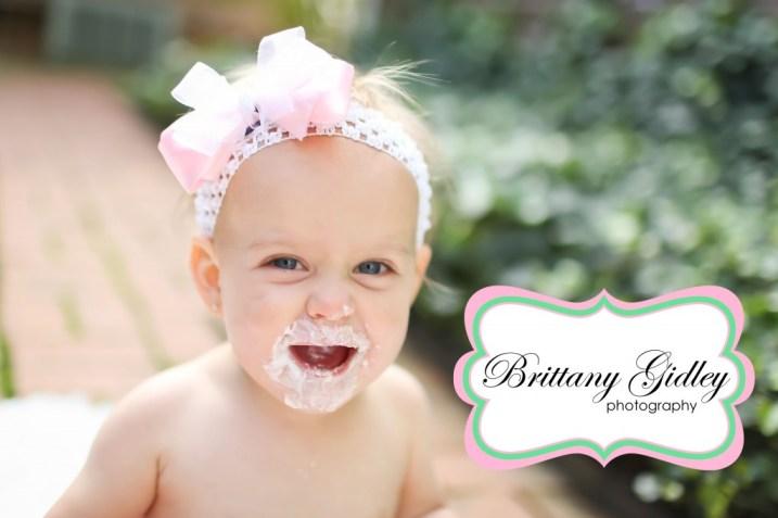 Birthday Cake Smash | Brittany Gidley Photography LLC
