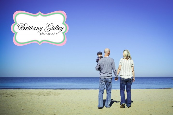 12 Month Baby Beach | Brittany Gidley Photography LLC