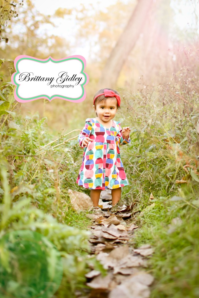 14 Month Old Baby Girl | Lens Flare | Brittany Gidley Photography LLC