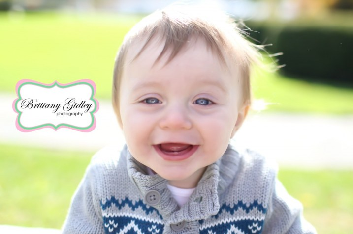 12 Month Old Baby | Brittany Gidley Photography LLC