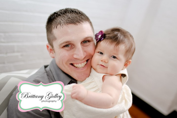 4 Month Baby | Brittany Gidley Photography LLC