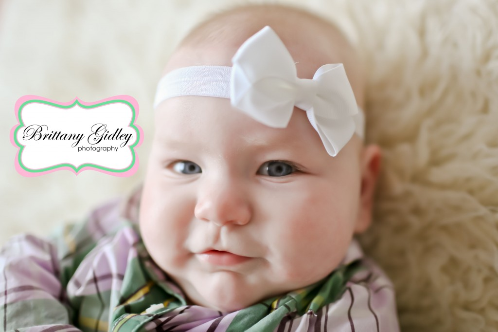 6 Month Baby | Baby Photographer | Brittany Gidley Photography LLC