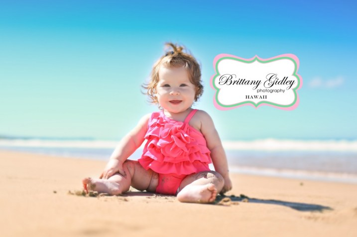 Hawaii Baby Photography | Brittany Gidley Photography LLC