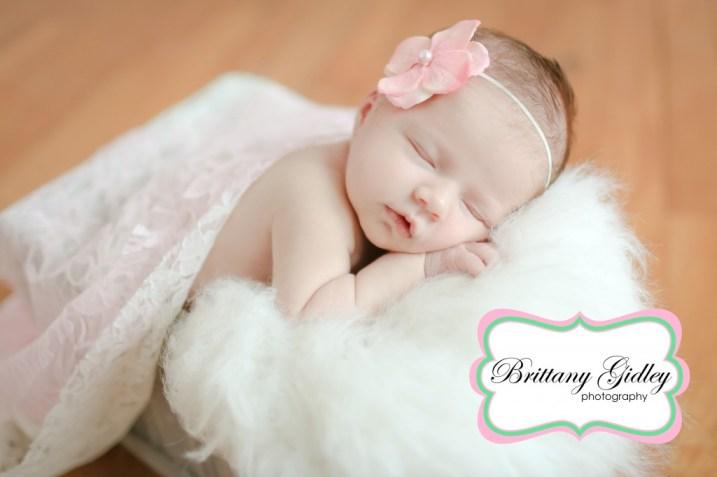 Newborn Baby Girl | Brittany Gidley Photography LLC