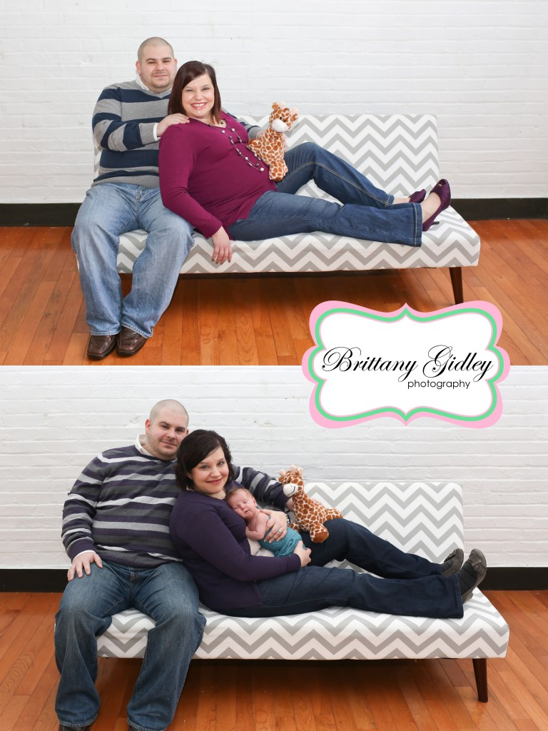 Maternity To Newborn Session Pictures | Brittany Gidley Photography LLC