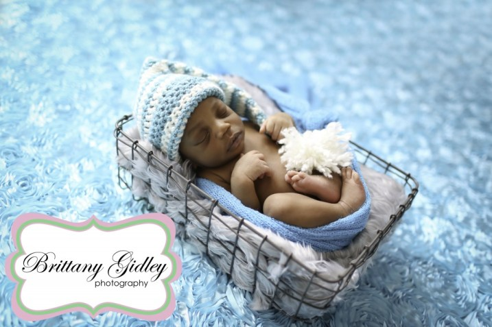 Winter Newborn | Brittany Gidley Photography LLC