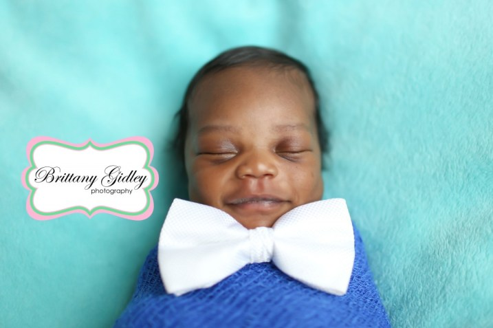 Best Newborn Photographers | Bow Tie Baby | Brittany Gidley Photography LLC