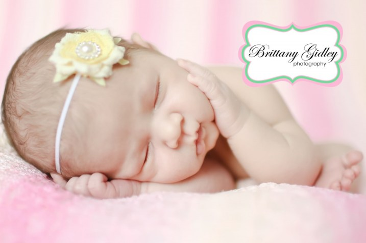 Newborn Baby Girl Photos | Brittany Gidley Photography LLC