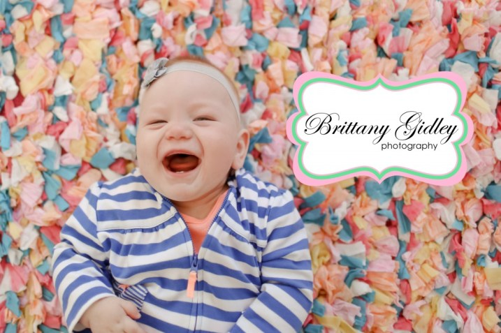 9 Month Baby | Brittany Gidley Photography LLC