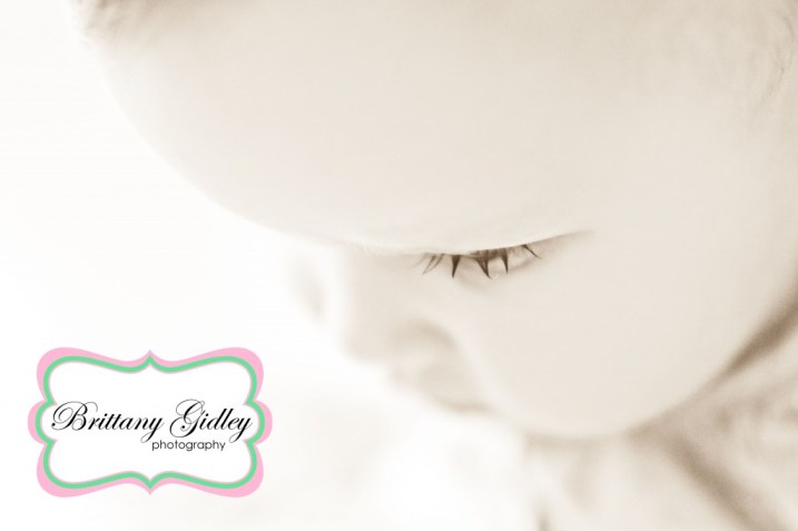 Baby Lashes | Brittany Gidley Photography LLC
