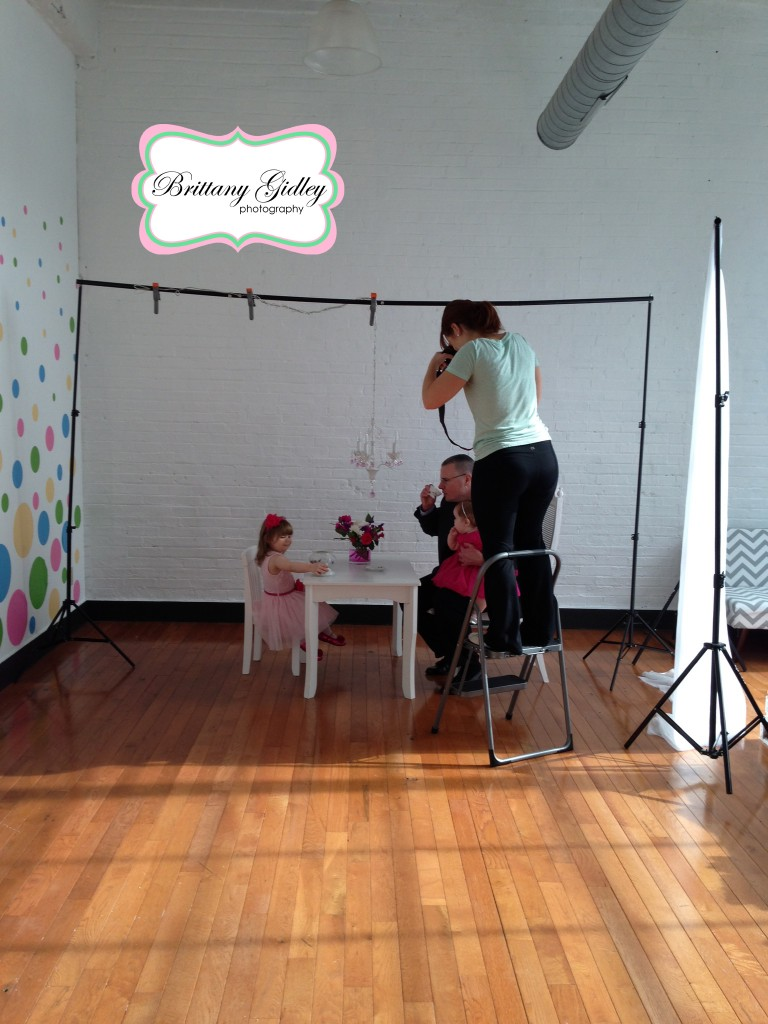 Behind The Scenes | Brittany Gidley Photography LLC