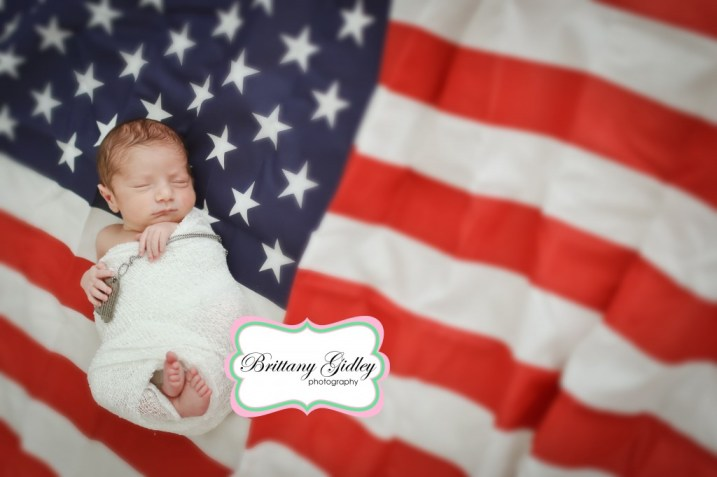 Patriotic Baby | Brittany Gidley Photography LLC
