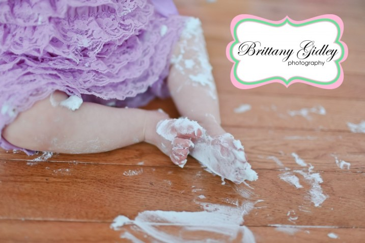 Cake Smash | Brittany Gidley Photography LLC