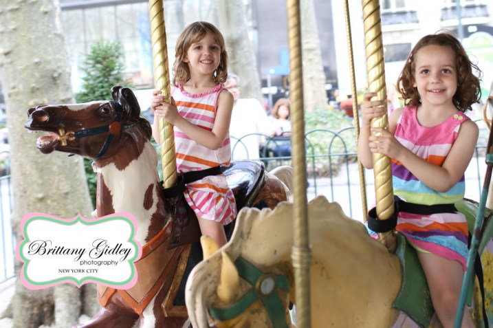 New York City Child Photography | Le Carrousel | Brittany Gidley Photography LLC