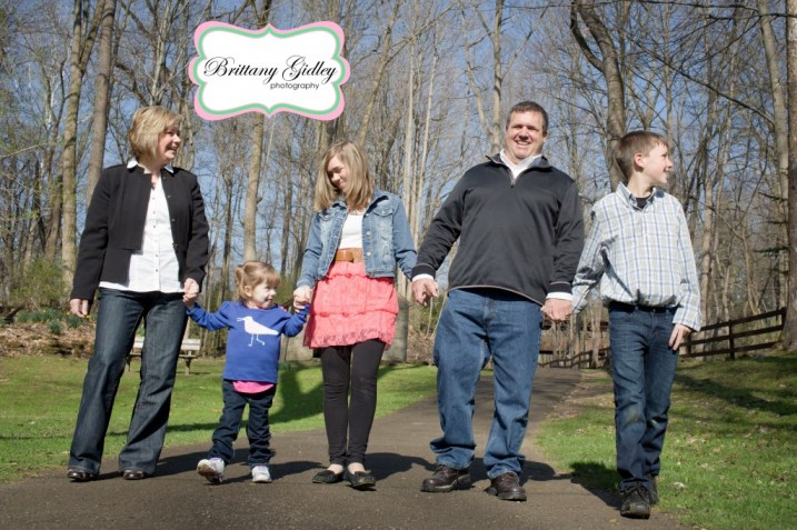 Family of 5 | Brittany Gidley Photography LLC
