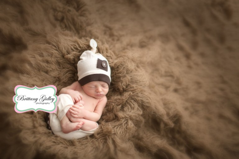 Newborn Baby Boy | Brittany Gidley Photography LLC