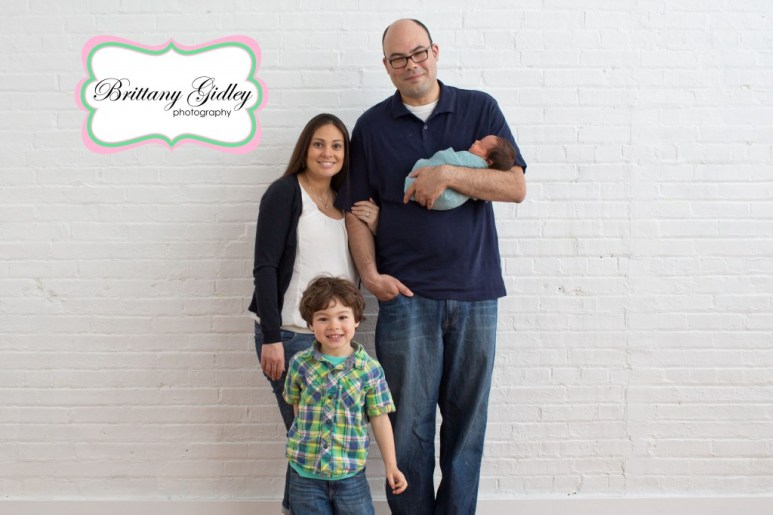 Newborn Baby and Family | Brittany Gidley Photography LLC
