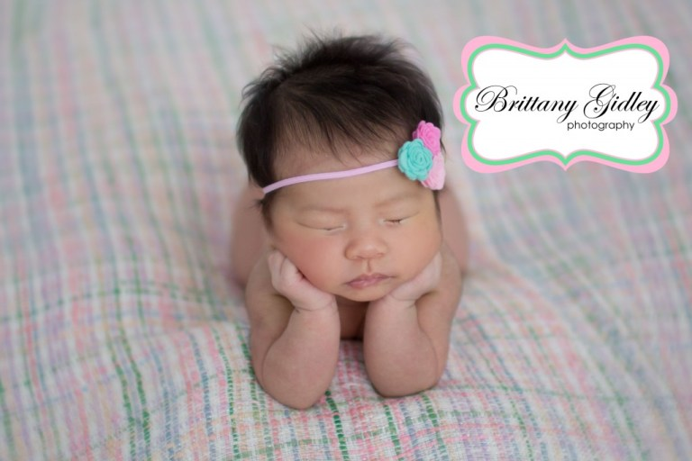 One Month Old Baby | Brittany Gidley Photography LLC