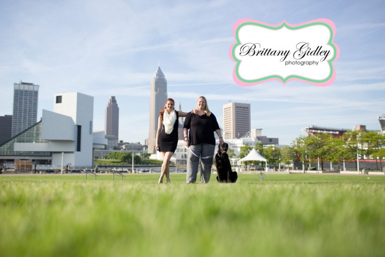Downtown Cleveland Photographer | Brittany Gidley Photography LLC
