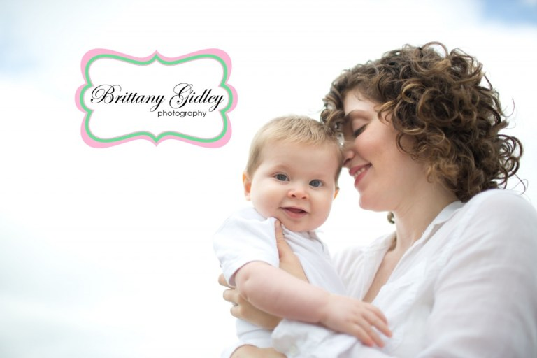 Beach Session | Baby with Mom Pose | Family Photographer | Brittany Gidley Photography LLC