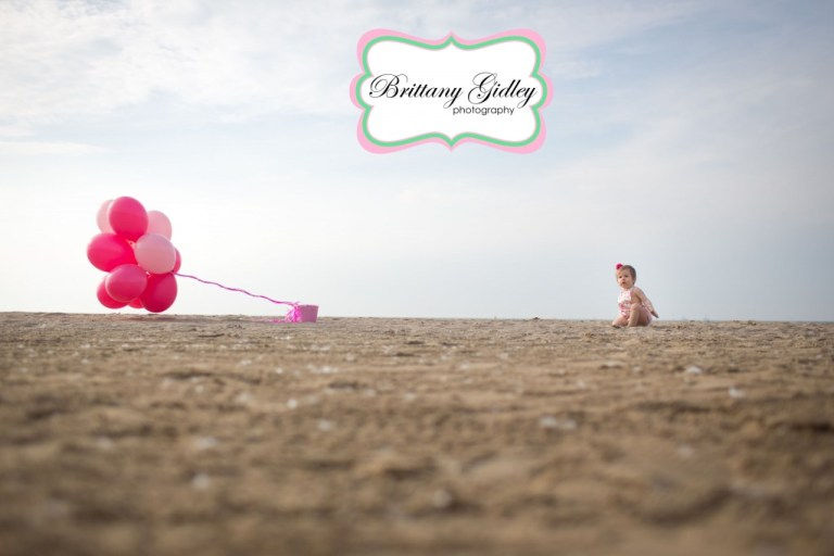 One Year Beach | 12 Month Baby | Brittany Gidley Photography LLC