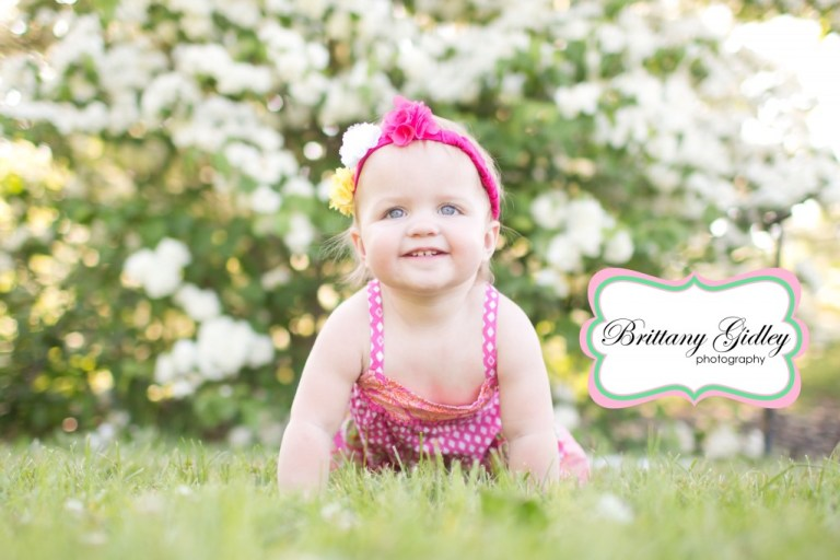 One Year Old Baby | Brittany Gidley Photography LLC