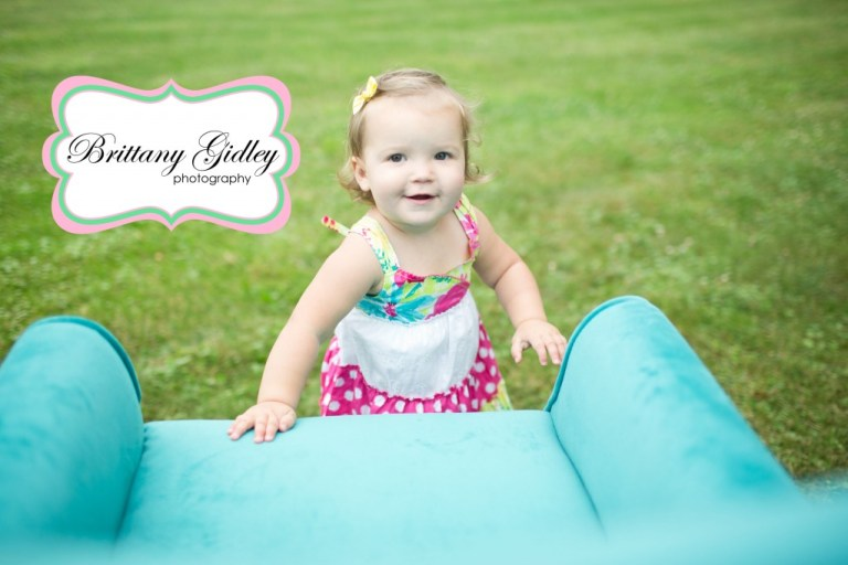 Toddler Photographer | 18 Month Session | Photography Inspiration | Teal Couch | Country Chic | Brittany Gidley Photography LLC