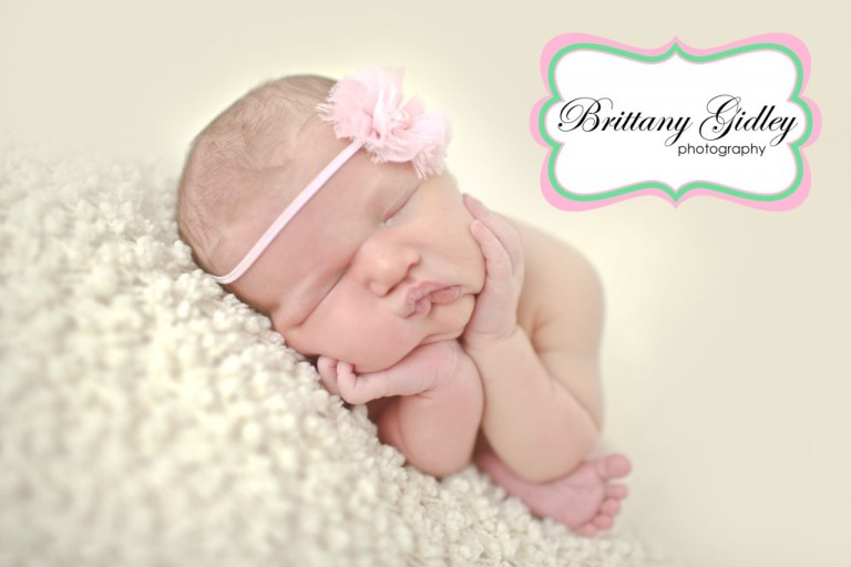 Taco Pose | Best Newborn Photographers | Start With The Best | Brittany Gidley Photography LLC