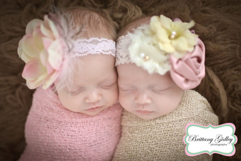 Newborn Twins | Start With The Best | Photography |Brittany Gidley Photography LLC