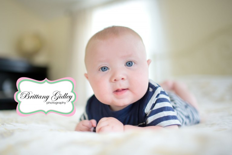 Baby Photographer | 5 Month Old Baby | Brittany Gidley Photography LLC