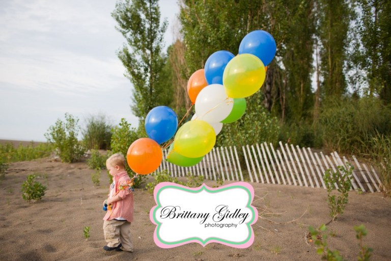 2 Year Old | Headlands | Orange and Blue| Beach | Brittany Gidley Photography LLC